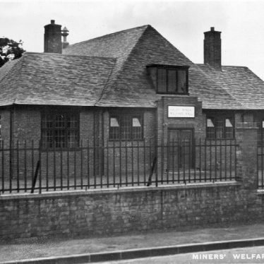 Arley.  Miners' Welfare Hall