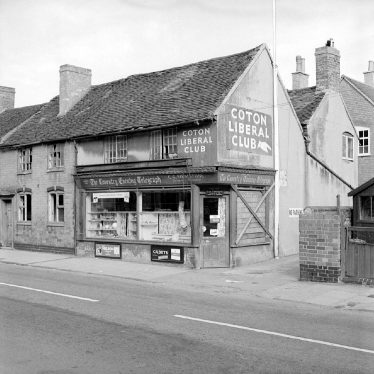 Chilvers Coton.  Newspaper shop