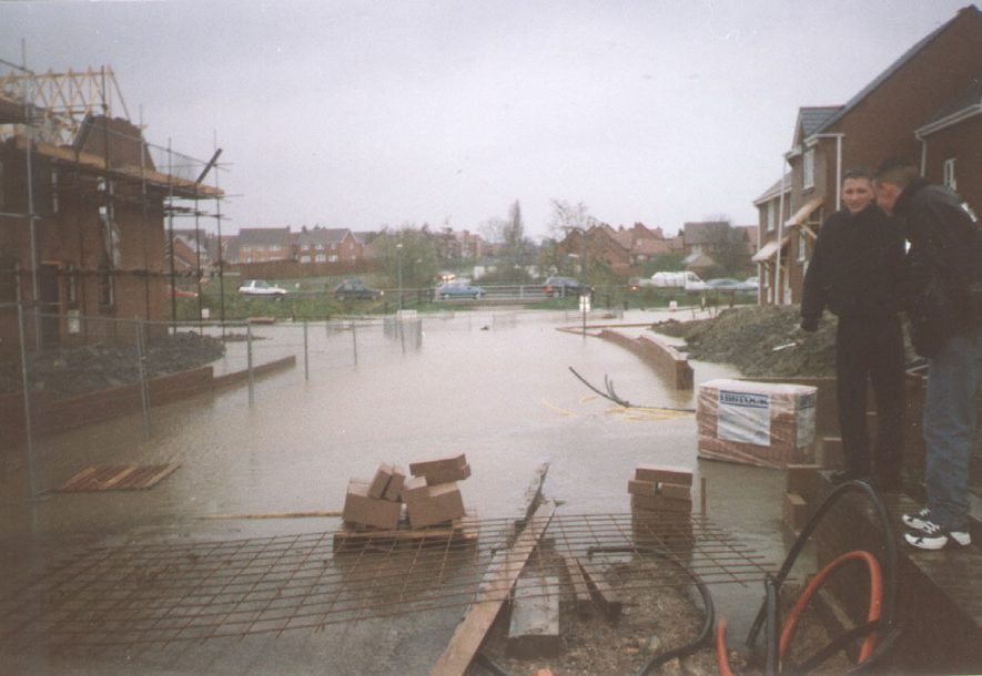 View of Southam floods.  10 April 1998 |  IMAGE LOCATION: (Southam Library)