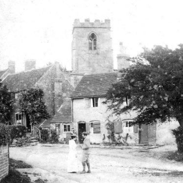 Arley.  Village scene