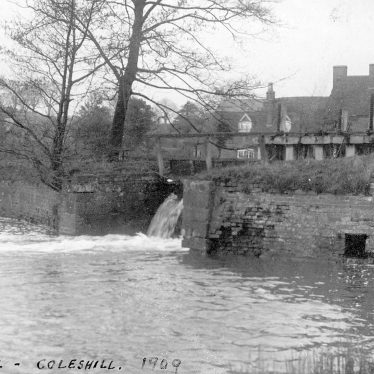 Coleshill.  Water Mill