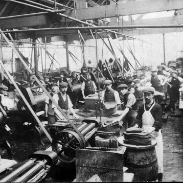 Bedworth.  Luckman & Pickering's Hat Factory