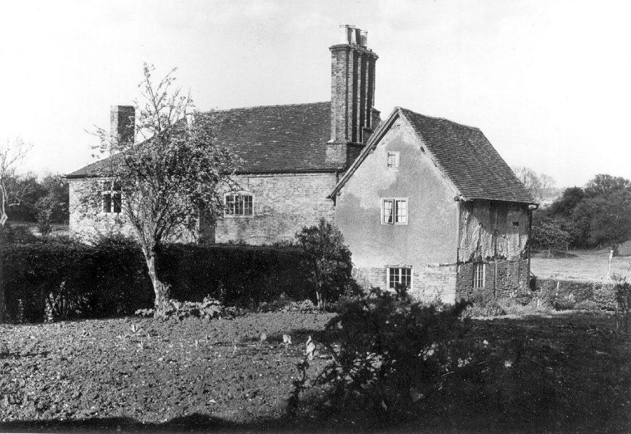 Hawkswell Hall, near Coleshill.  Circa 1974 |  IMAGE LOCATION: (Warwickshire County Record Office)