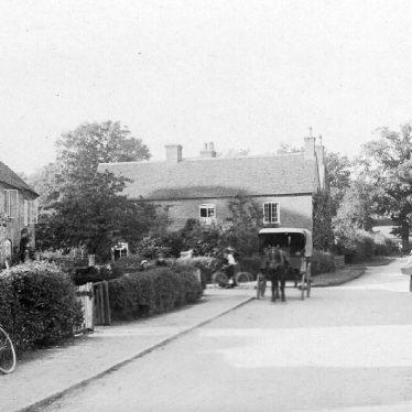 Ashow.  Village street