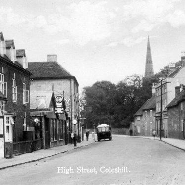 Coleshill.  High Street