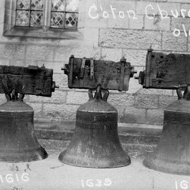 Chilvers Coton.  Church bells