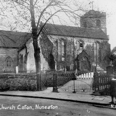 Chilvers Coton.  All Saints Church