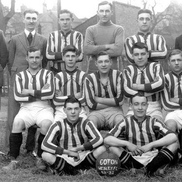 Chilvers Coton Football Team.