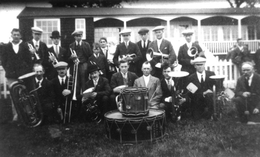 Arley adult school band.  1930s |  IMAGE LOCATION: (Warwickshire Museums. Photographic Collections.)
