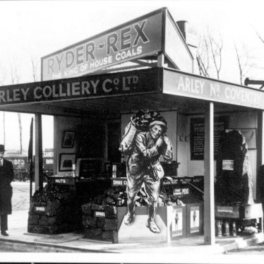 Arley.  Colliery Stand at the B.I.F.