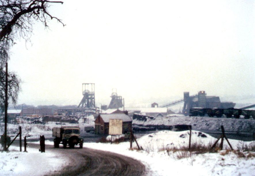 Arley pit, from Frederick Road,  taken in January 1963. |  IMAGE LOCATION: (Warwickshire Museums. Photographic Collections.)