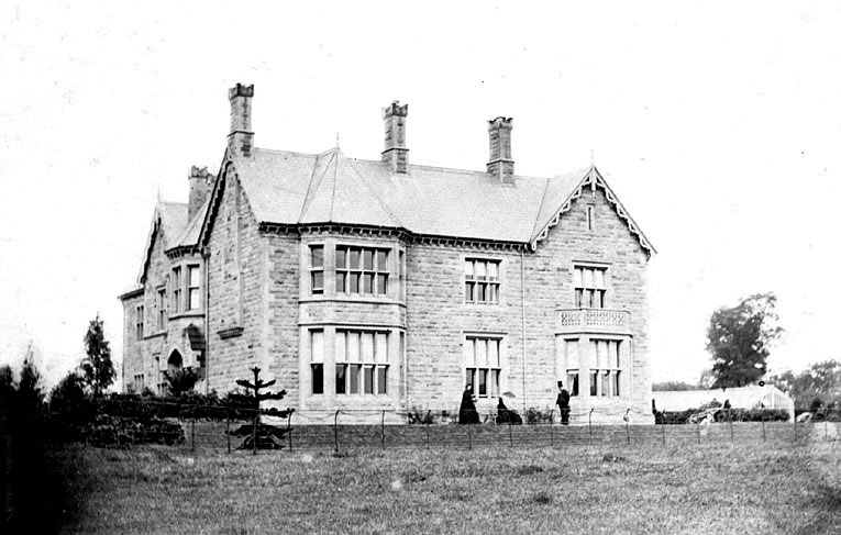 Arden House, Atherstone.  1880s [In fact a picture of Arden Hill, South Street, Atherstone and is across the road from Arden House. ] |  IMAGE LOCATION: (Warwickshire Museums. Photographic Collections.)