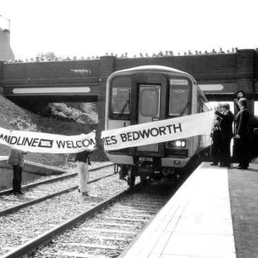 Bedworth.  Reopening of train service