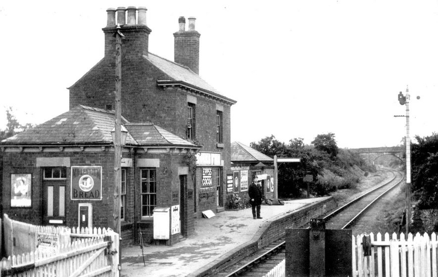 Coleshill station.  1908 |  IMAGE LOCATION: (Warwickshire Museums. Photographic Collections.)