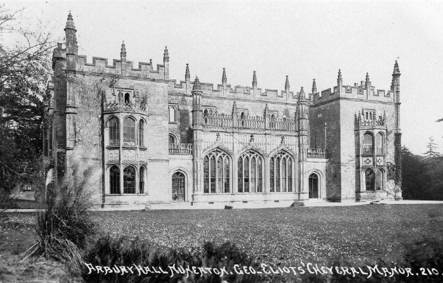Arbury Hall, Nuneaton.  1905 |  IMAGE LOCATION: (Warwickshire County Record Office)