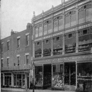 Leamington Spa.  Bedford Stores & Athenaeum Library
