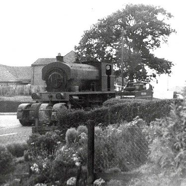 Arley.  Arley Colliery locomotive
