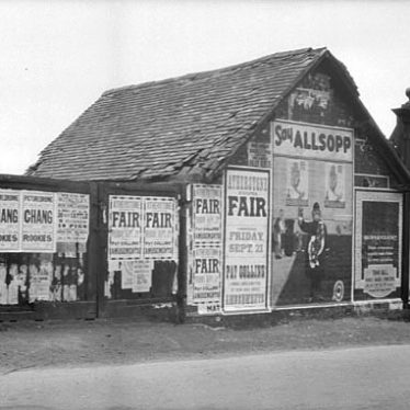 Atherstone.  Bill posters