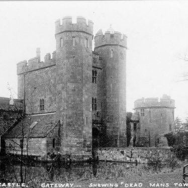 Maxstoke Castle.  Gateway