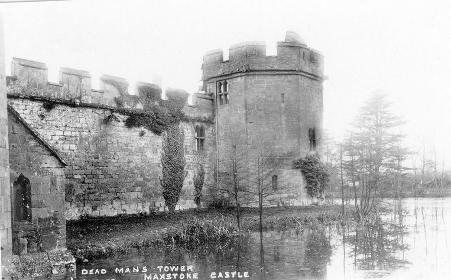 Dead Man's Tower, Maxstoke Castle.  1920s |  IMAGE LOCATION: (Warwickshire County Record Office)