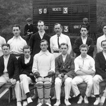 Weddington.  Nuneaton Post Office Cricket Team