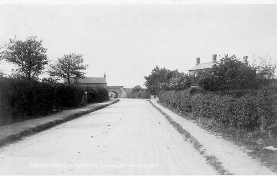 Weddington Grove, Weddington, near Nuneaton.  1900s |  IMAGE LOCATION: (Warwickshire County Record Office)