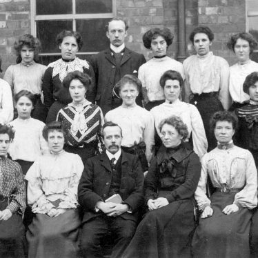 Nuneaton.  Abbey Street School staff
