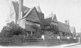 King Edward VI Grammar School, Nuneaton.  1900s |  IMAGE LOCATION: (Warwickshire County Record Office)