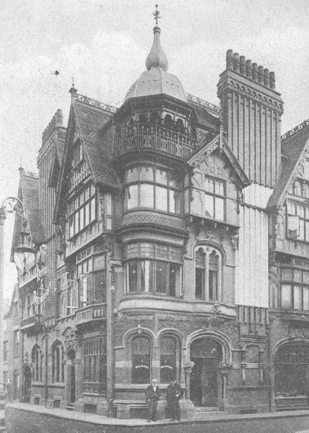 Gate Hotel, Nuneaton.  1900s |  IMAGE LOCATION: (Warwickshire County Record Office)