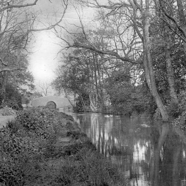 Nuneaton.  Griff Hollows and Coventry Canal