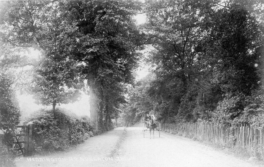 Weddington Road, Nuneaton.  1911 |  IMAGE LOCATION: (Warwickshire County Record Office)