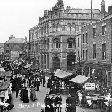 Nuneaton.  Market Place