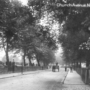 Nuneaton.  Church Avenue