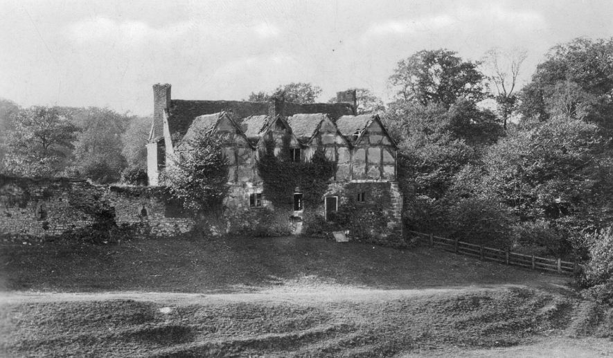 The Old Abbey, Hartshill.  1930 |  IMAGE LOCATION: (Warwickshire County Record Office)