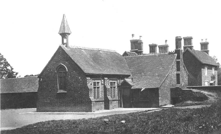Lea Marston Boys School.  1910s |  IMAGE LOCATION: (Warwickshire County Record Office)
