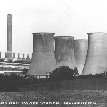 Lea Marston.  Hams Hall Power Station