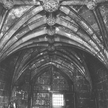 Maxstoke Castle.  Castle, entrance