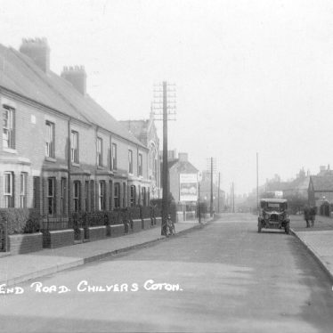 Chilvers Coton.  Heath End Road