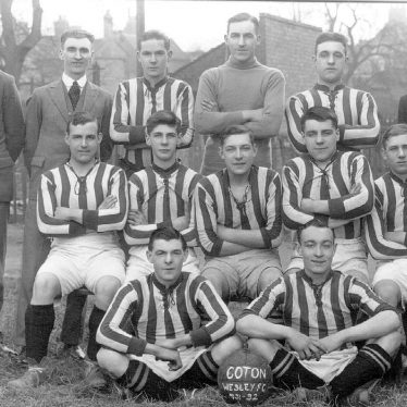 Chilvers Coton.  Wesley Football Team