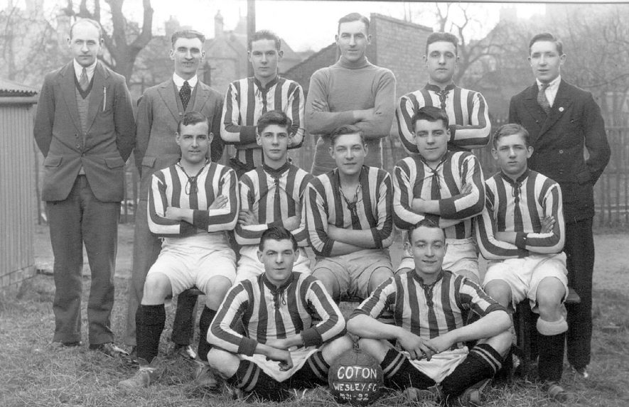 Wesley football club team photograph, Chilvers Coton.  1931/2 |  IMAGE LOCATION: (Warwickshire County Record Office)