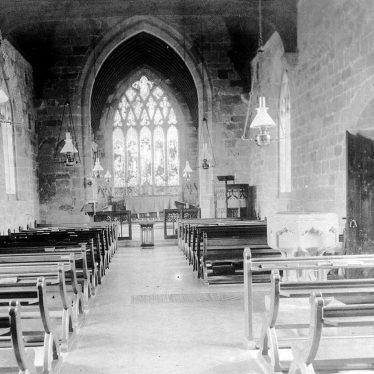 Seckington.  Church interior