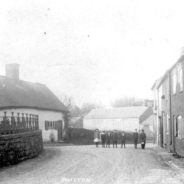 Shilton.  Village street