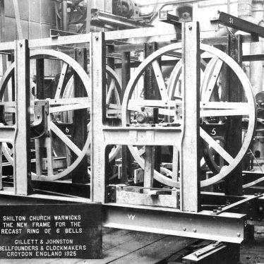 Shilton.  Bell frame