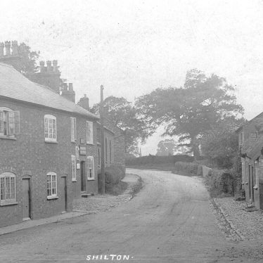 Shilton.  Cottages