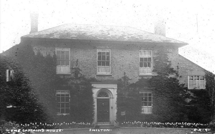 The Captain's House, (Shilton House), Shilton.  1900s |  IMAGE LOCATION: (Warwickshire County Record Office)
