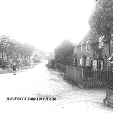 Shustoke.  Village street