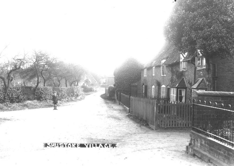 Village street, Shustoke.  1930s |  IMAGE LOCATION: (Warwickshire County Record Office)