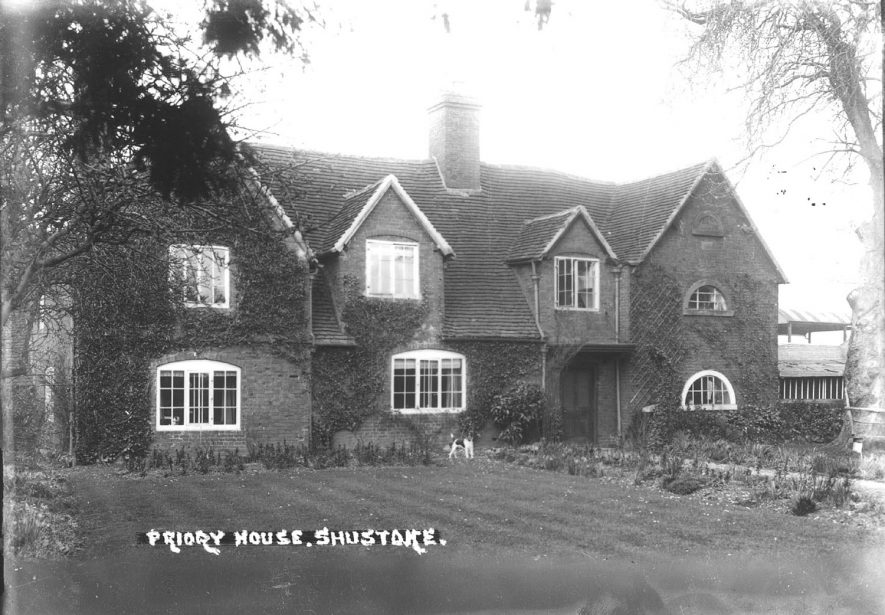 Priory House, Shustoke.  1930s |  IMAGE LOCATION: (Warwickshire County Record Office)