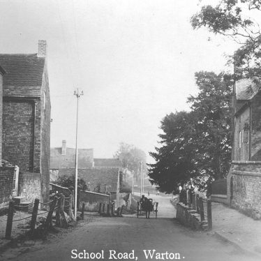 Warton.  School Road