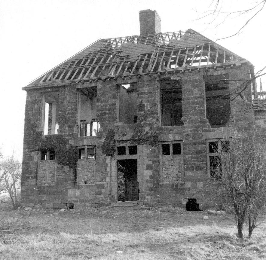 Ruin of Alvecote Priory, Shuttington.  1965 |  IMAGE LOCATION: (Warwickshire County Record Office)